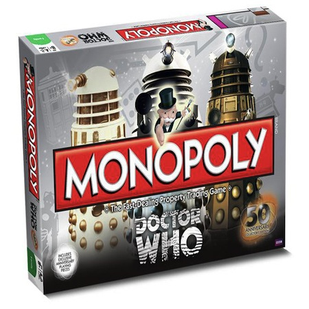Gag Gifts - Monopoly Game: Doctor Who
