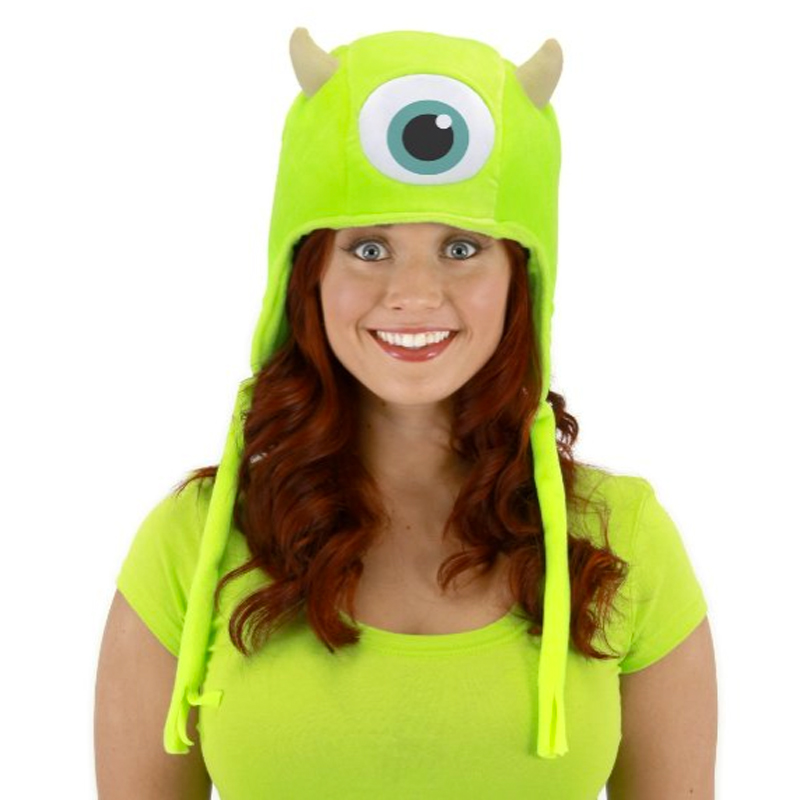 Gag Gifts - Monsters Inc. Mike Hoodie Hat