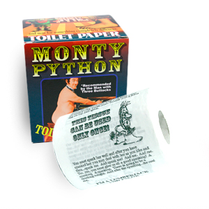 Gag Gifts - Monty Python Toilet Paper