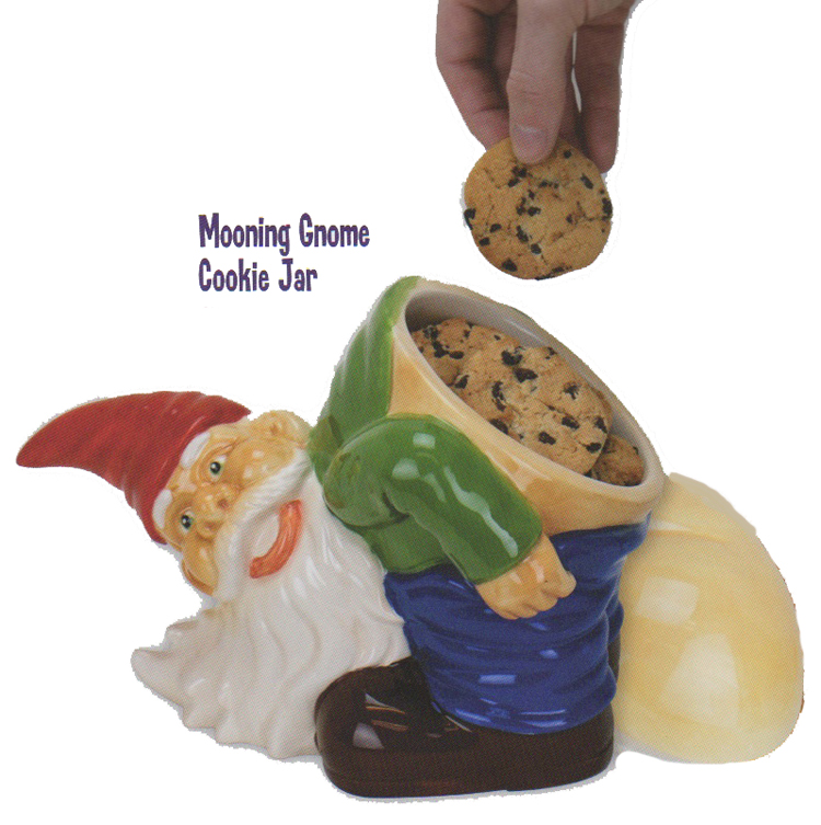 Gag Gifts - Mooning Gnome Cookie Jar