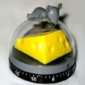 Gag Gifts - Mouse & Cheese Timer