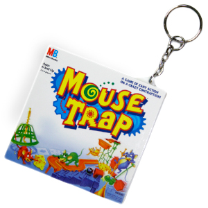 Gag Gifts - Mousetrap Game Keychain
