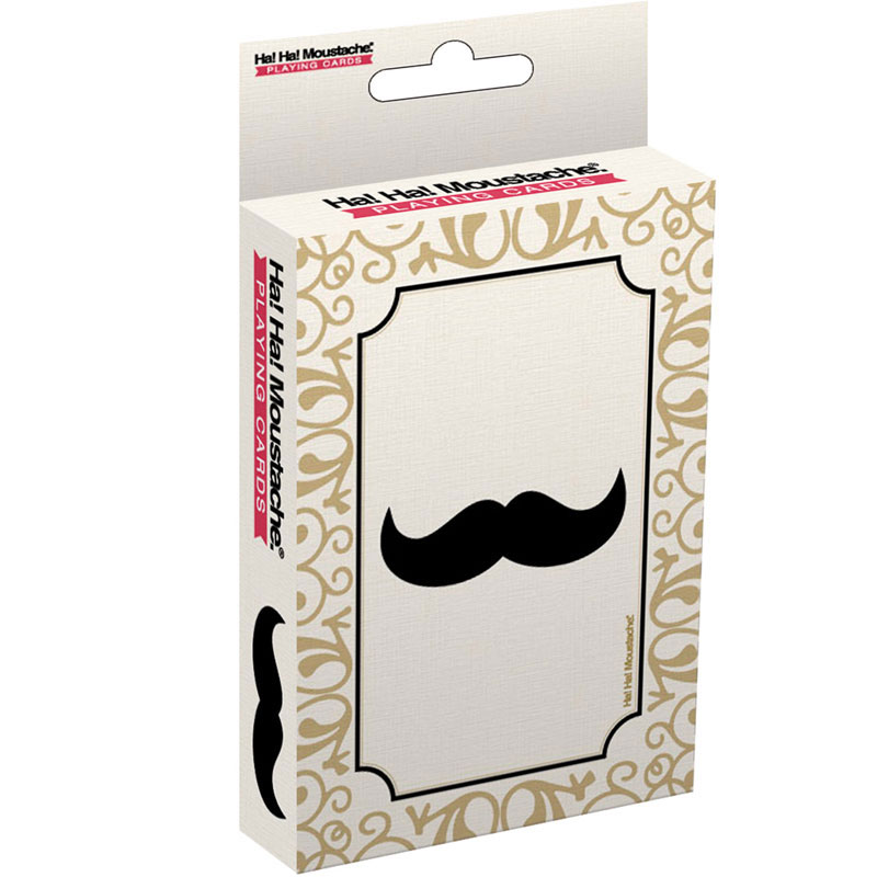 Gag Gifts - Moustache Playing Cards