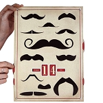 Moustaches For The Modern Gentleman Perpetual Calendar