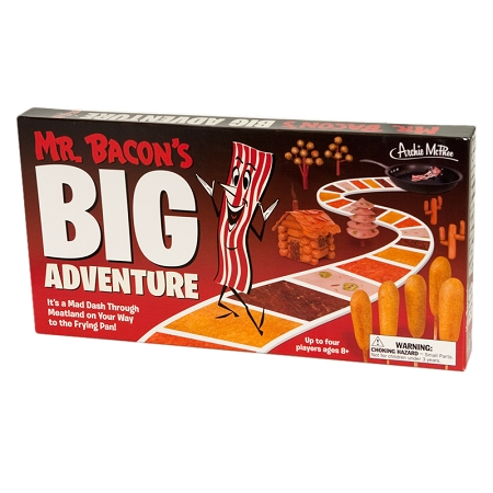Gag Gifts - Mr. Bacon's Wild Board Game