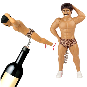 Gag Gifts - Muscle Man Corkscrew