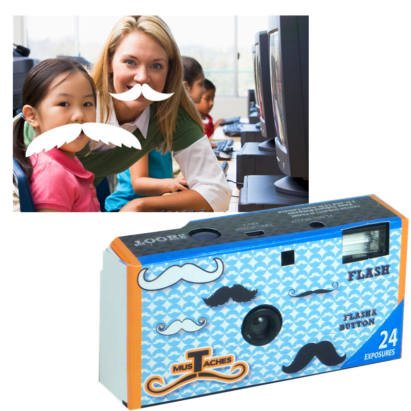 Gag Gifts - Mustache Magic Disposable Camera