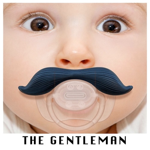 Gag Gifts - Mustachifier: The Gentleman Pacifier