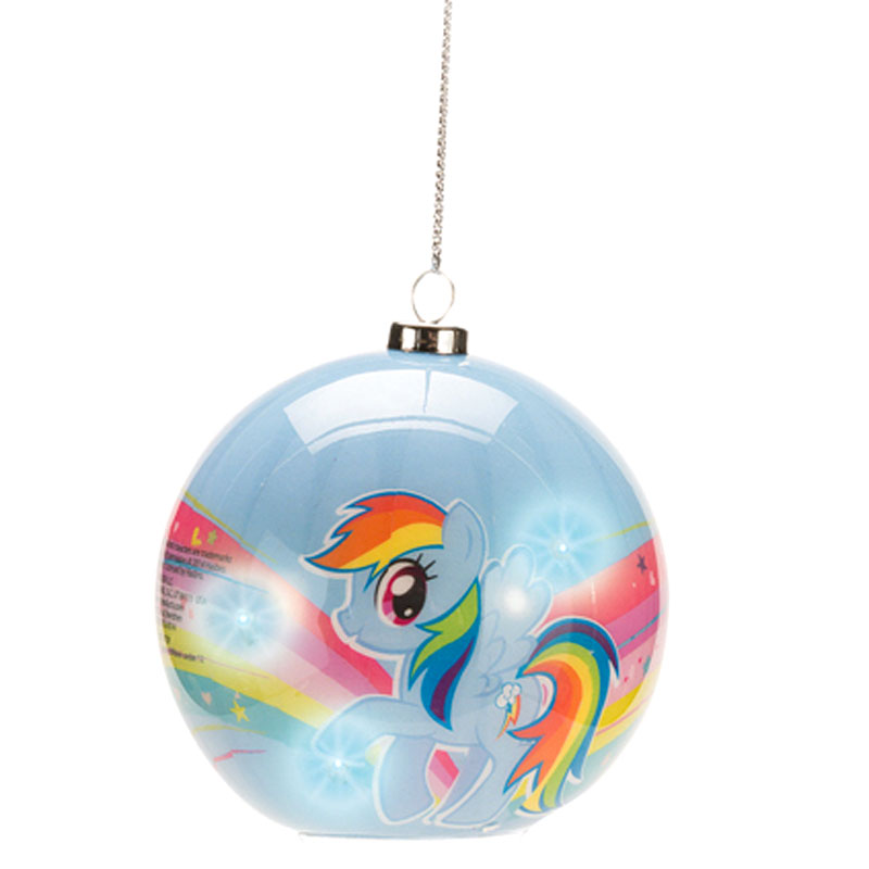 Gag Gifts - My Little Pony, Rainbow Dash Light-Up Ornament