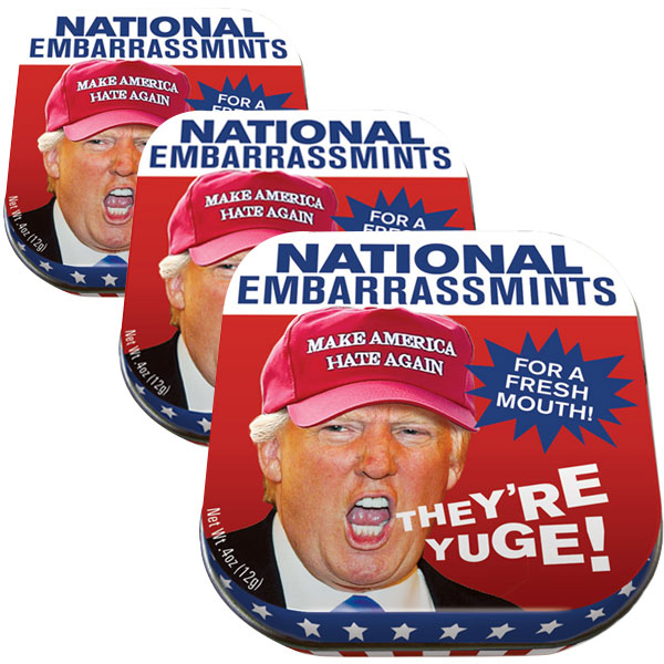 Gag Gifts - National Embarrassmints (3-Pack)