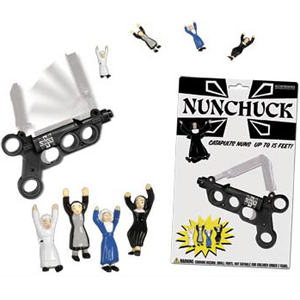 Gag Gifts - Nunchucks Nun Catapult