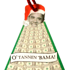 Gag Gifts - O' Tannen Bama Tree Ornament