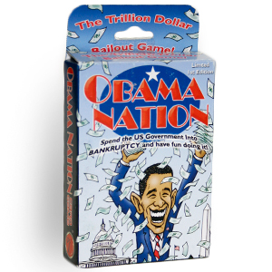 Gag Gifts - Obama Nation Playing Cards - Collector's Item