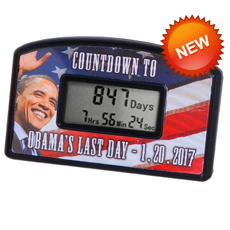 Gag Gifts - Obama's Last Day Countdown Clock 2017