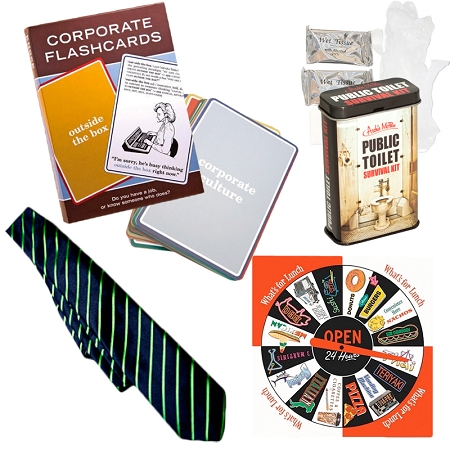 Gag Gifts - Office Survival Gift Pack