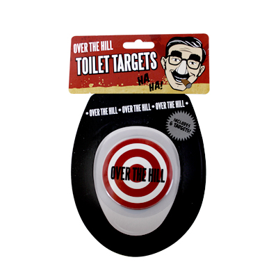 Gag Gifts - Over the Hill Toilet Target