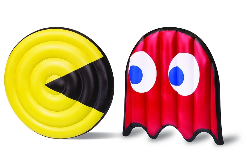 Gag Gifts - Pac Man & Ghost Pool Floats