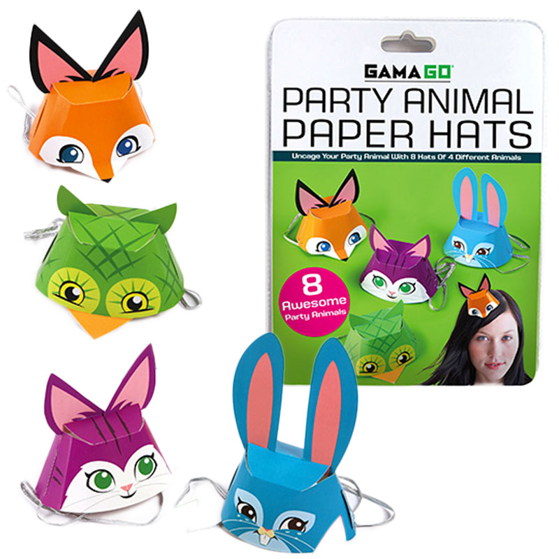 Gag Gifts - Party Animal Hats