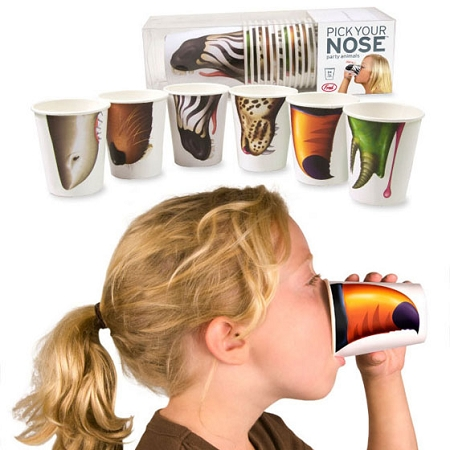 Gag Gifts - Party Animal Nose Cups