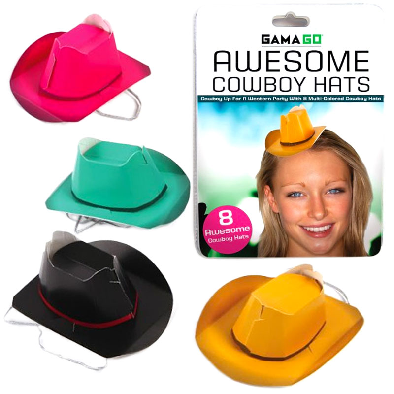 Gag Gifts - Party Cowboy Hats