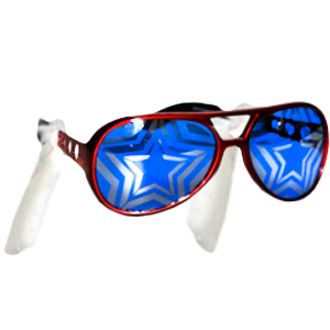 Gag Gifts - Patriotic Glasses