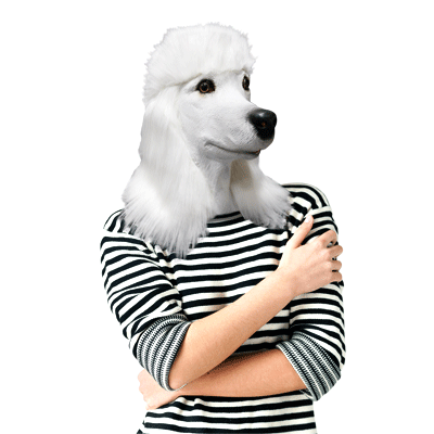 Gag Gifts - Patty the Poddle Mask