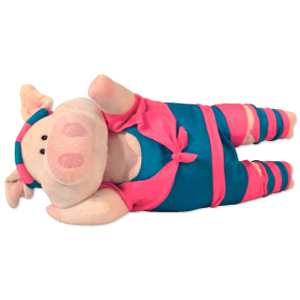 Gag Gifts - Physical Phyllis Excercising Piglet