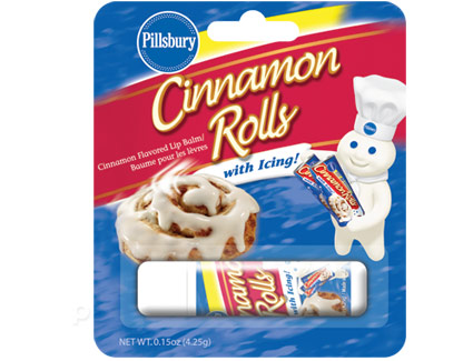 Gag Gifts - Pillsbury Cinnamon Roll Lip Balm