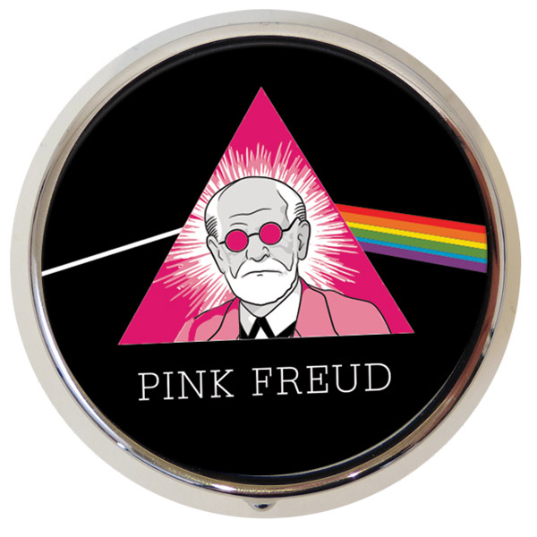 Gag Gifts - Pink Freud Pill Box