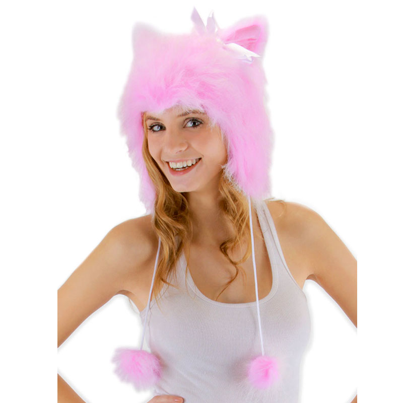 Gag Gifts - Pink Kitty Hoodie