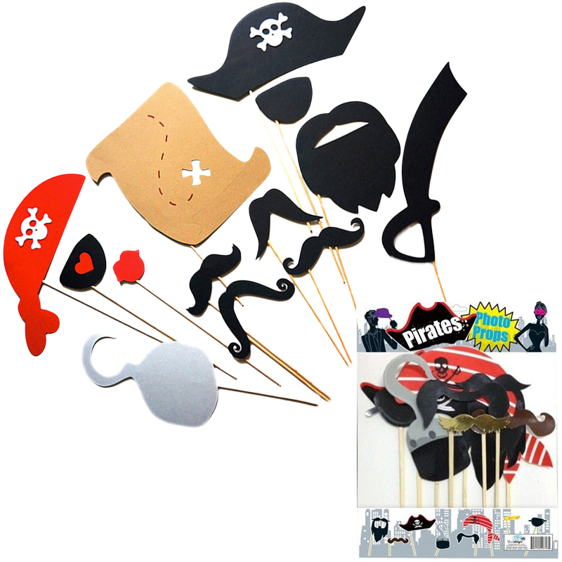 Gag Gifts - Pirate Photo Props Set
