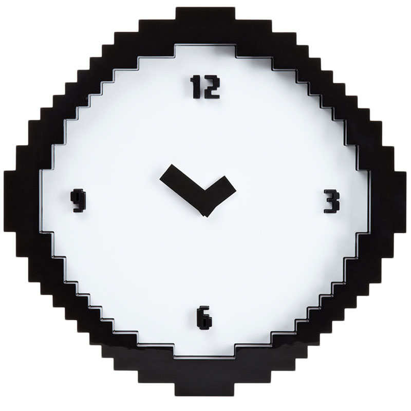 Gag Gifts - Pixel Wall Clock