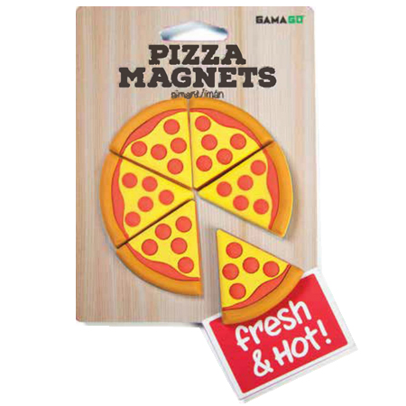 Gag Gifts - Pizza Magnets