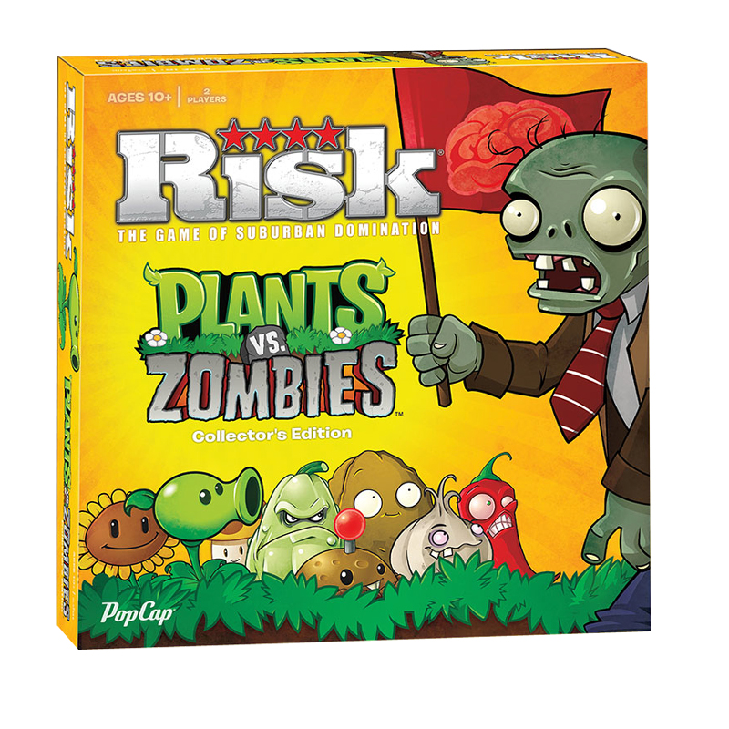 Gag Gifts - Plants Vs. Zombies Risk Game