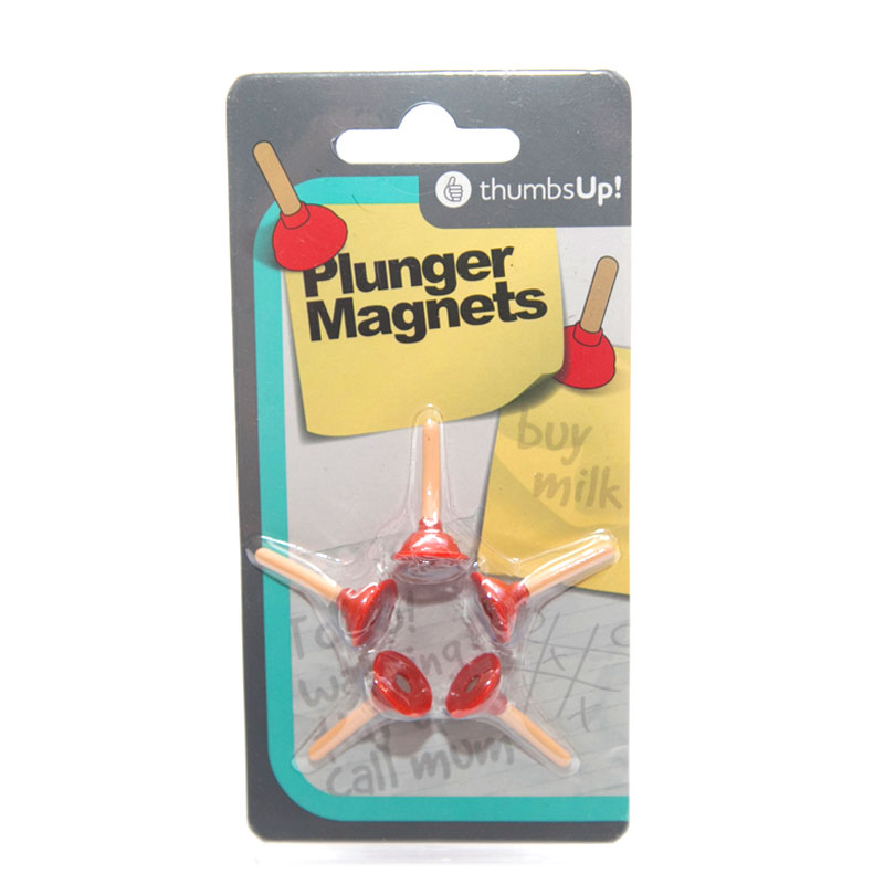 Gag Gifts - Plunger Magnets