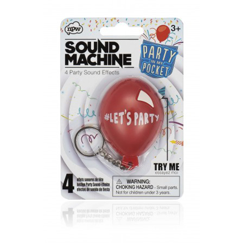 Gag Gifts - Pocket Party Sound Machine
