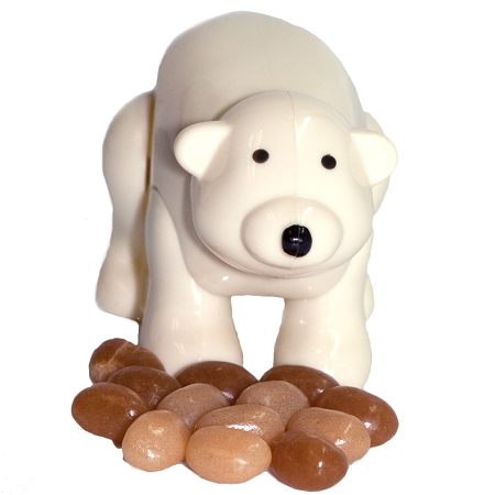 Gag Gifts - Poo lar Bear   Pooping Polar Bear