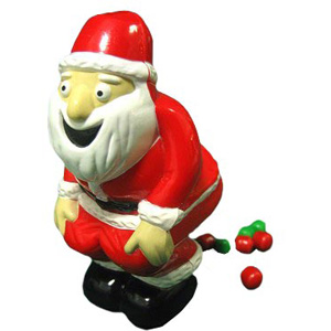 Gag Gifts - Pooping Santa Candy