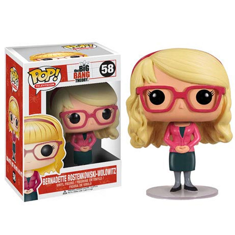 Gag Gifts - Pop! Vinyl Figure: Big Bang Theory, Bernadette