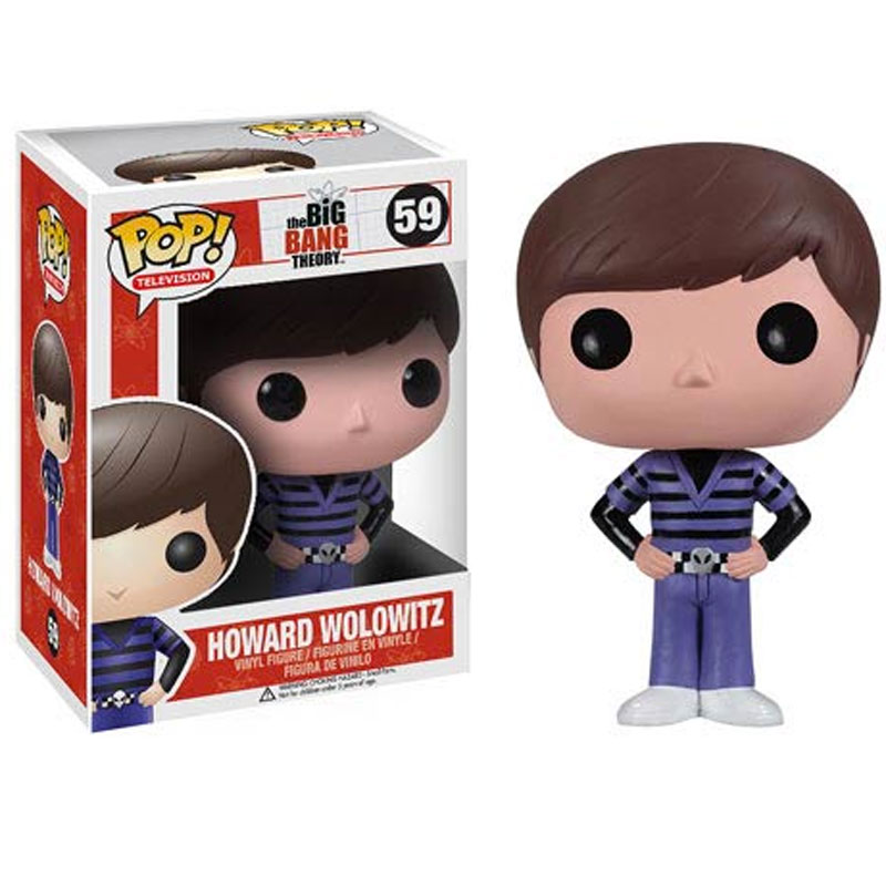 Gag Gifts - Pop! Vinyl Figure: Big Bang Theory, Howard