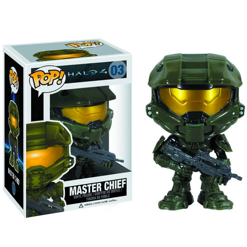Gag Gifts - Pop! Vinyl Figure: Halo 4, Master Chief