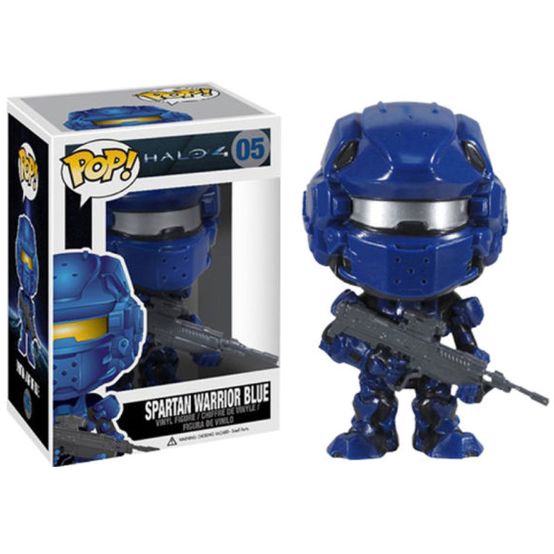 Gag Gifts - Pop! Vinyl Figure: Halo 4, Spartan Warrior Blue