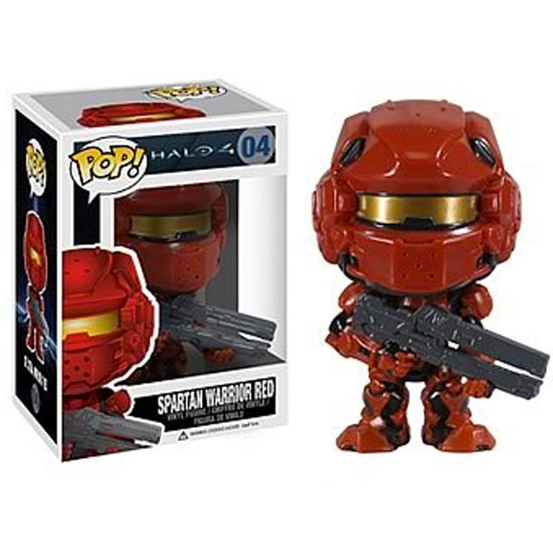 Gag Gifts - Pop! Vinyl Figure: Halo 4, Spartan Warrior Red