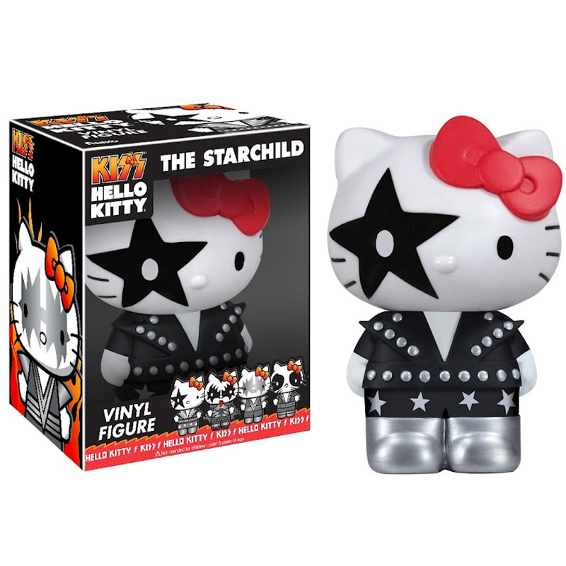 Gag Gifts - Pop! Vinyl Figure: Hello Kitty / KISS, Starchild