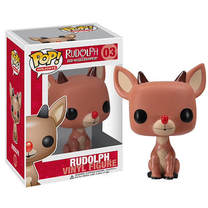 Gag Gifts - Pop! Vinyl Figure, Rudolph the Red Nose Reindeer