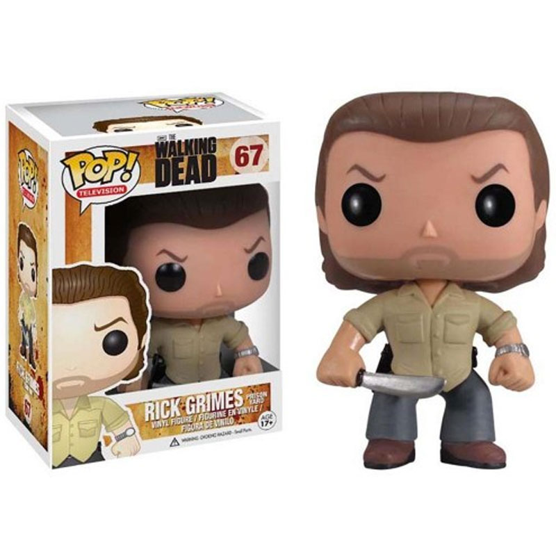Gag Gifts - Pop! Vinyl Figure: The Walking Dead, Prison Yard Rick