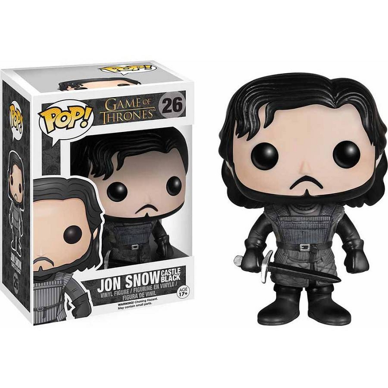 Gag Gifts - Pop Figure: Game Thrones Jon Snow Training Ground