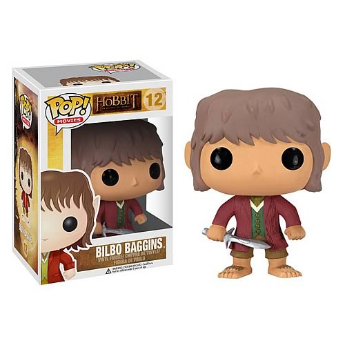 Gag Gifts - Pop Figure: The Hobbit Bilbo