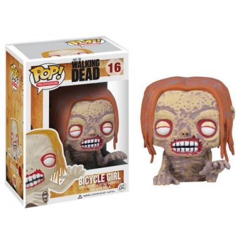 Gag Gifts - Pop Figure: Walking Dead Bicycle Girl