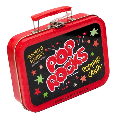 Gag Gifts - Pop Rocks Collectible Tin